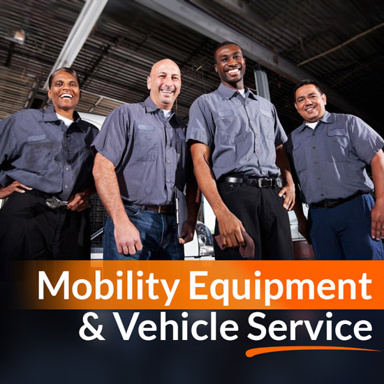 Mobility Equipment and Wheelchair Van Service Technicians Image